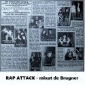 Mixtape: Brugner | Rap attak (tribute mix to early Romanian Hip Hop)