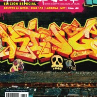 Ilegal Squad Graffiti Magazine No.44: Adictos al Metal