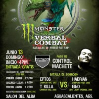 Evento: Verbal Combat | Batallas de freestyle Rap