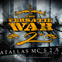 Evento: The versatil War 2 | Batallas mc's 2 a 2 – 2010