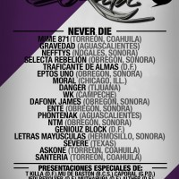 Evento: Presentacion Mixtape Never Die Records | DF