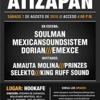 7 Agosto | Hip Hop Session Atizapan