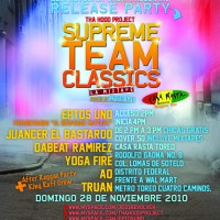 JRC Presenta: Release Party | Supreme team clasics