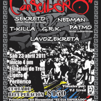 Evento: Canserbero | 23 Abril 2011 – Mexico, D.F.
