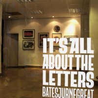 Galeria: Bates, Jurne & Great | It's all about the letters