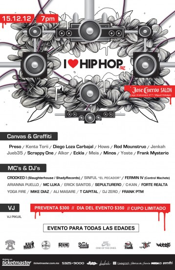 LINE-UP-WEB I Love Hip Hop 2012