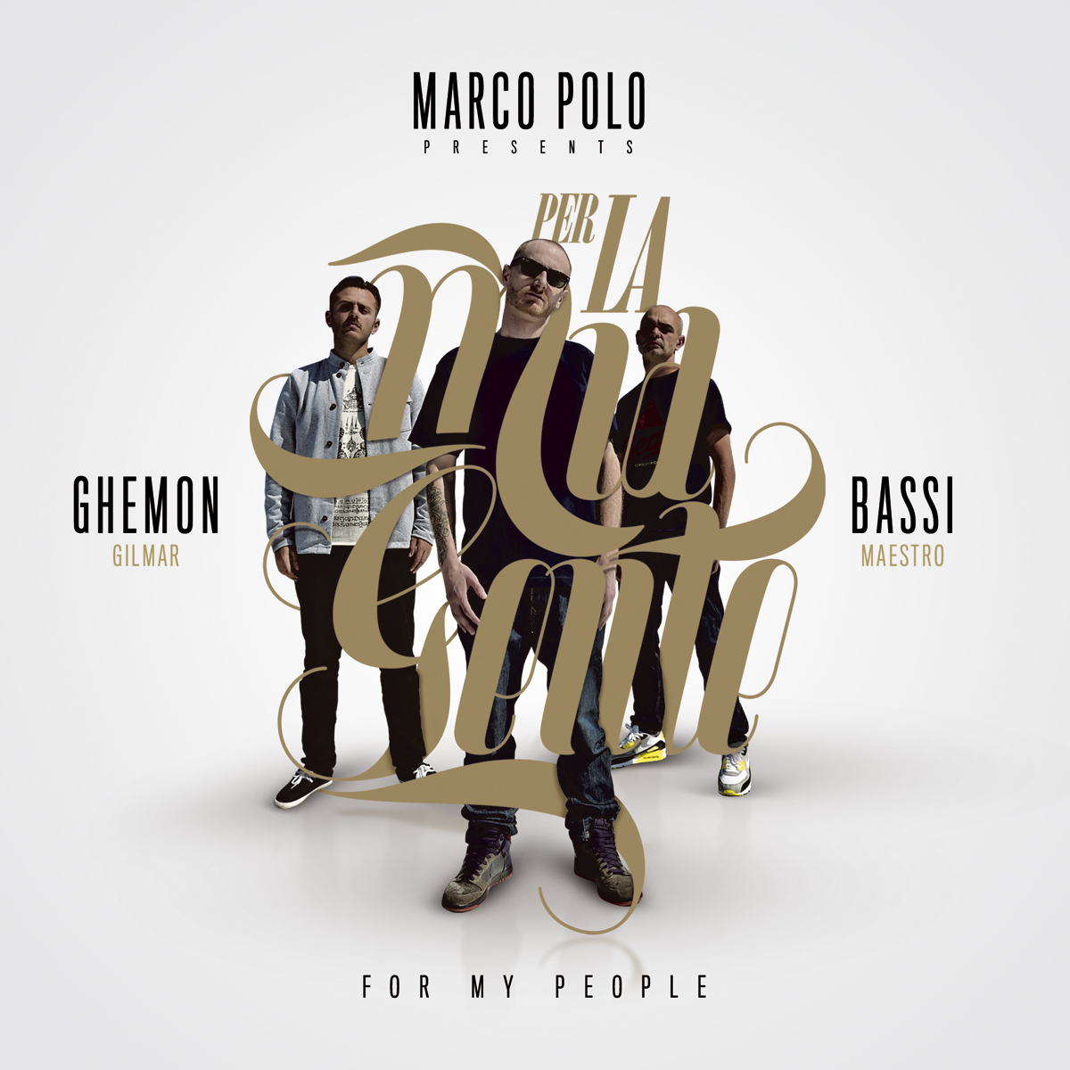 Marco Polo presents Bassi maestro and Ghemon Gilmar - Per la mia gente (For my people)