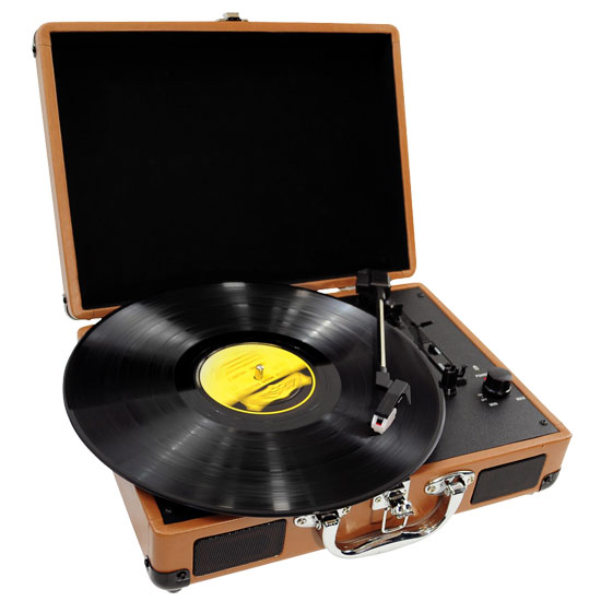 PVTT2U, Retro Belt-Drive Turntable de PylePro