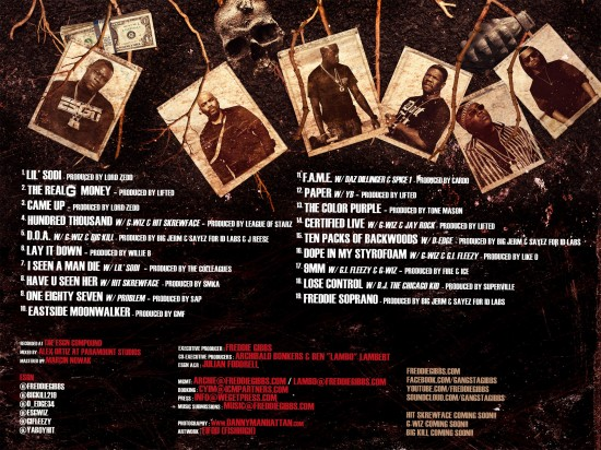 Descarga: Freddie Gibbs | ESGN (Evil Seeds Grow Naturally) -Tracklist