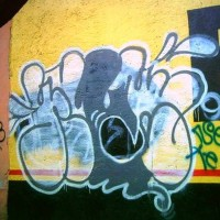 Graffiti: Pier SBS 2A | 09 Julio 2013 – Descanse en Paz