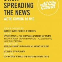 Noticia:  All City Canvas | Global Series – New York City 2013‏