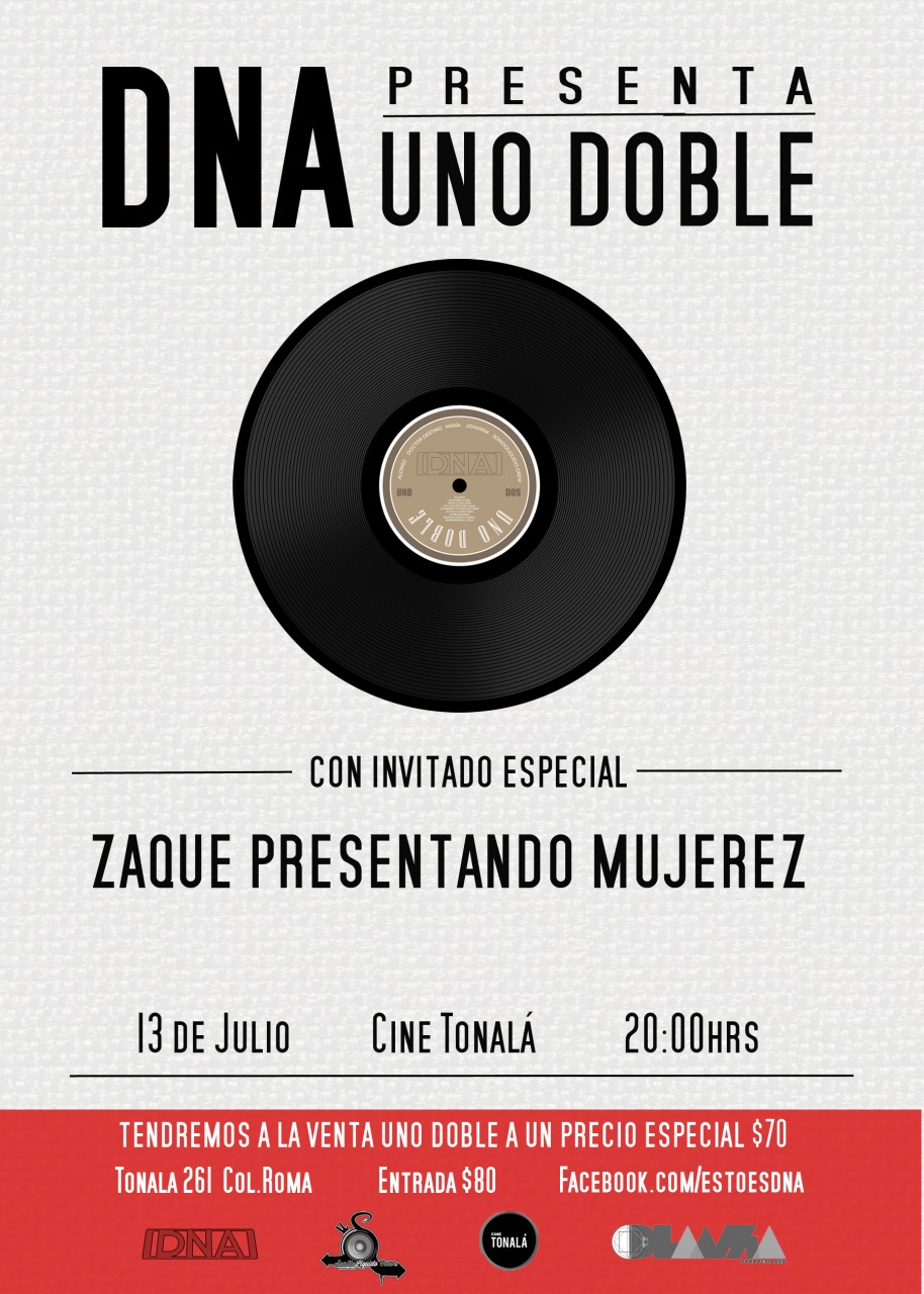 Evento: DNA | Presenta: Uno Doble