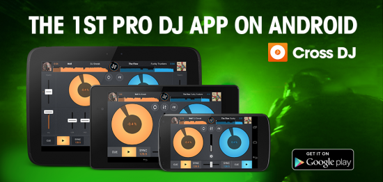 Software: Mixvibes | Cross DJ para Android