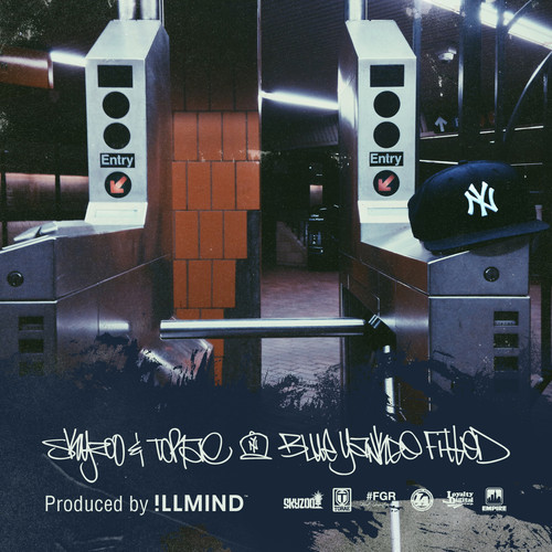 Skyzoo & Torae - Blue yankee fitted