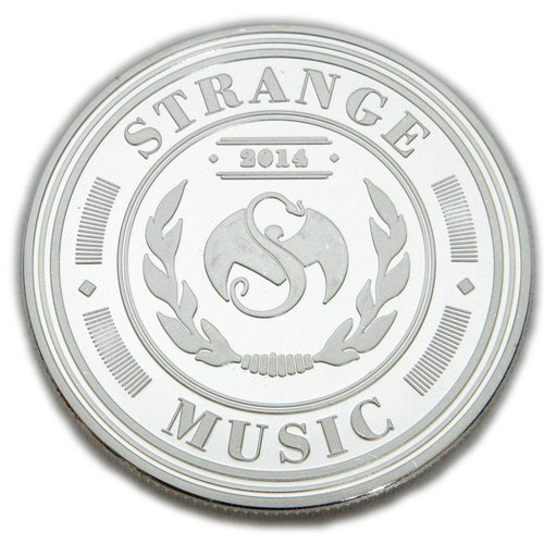 Strange Music - 2014 Inaugural Collector's Coin