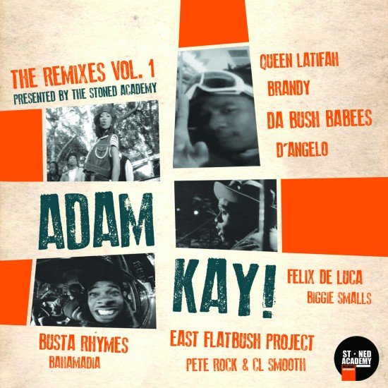 Adam Kay - The Remixes Vol. 1 (2015)