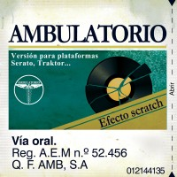 Descarga: Menikmatiko | Ambulatorio – Efecto Scratch