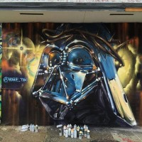 Graffiti: Vogue (TDK) | Art Basel – Darth Savior