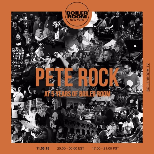 Pete Rock - Boiler Room NYC 5th Birthday Set