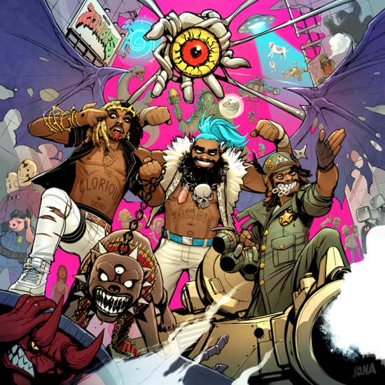 Flatbush Zombies - 3001 A laced odyssey