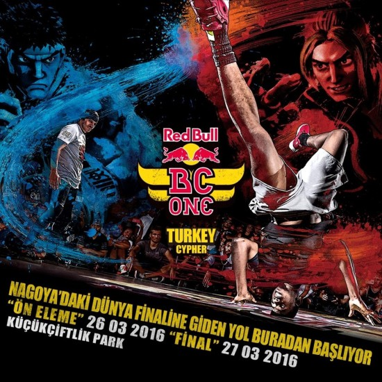 Red Bull BC One - Turkey Cypher 2016